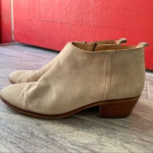 J.Crew Suede Ankle Boots